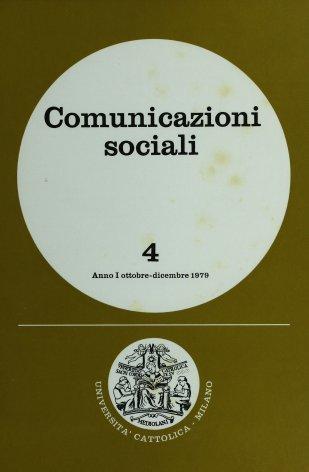 COMUNICAZIONI SOCIALI - 1979 - 4