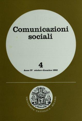 COMUNICAZIONI SOCIALI - 1982 - 4