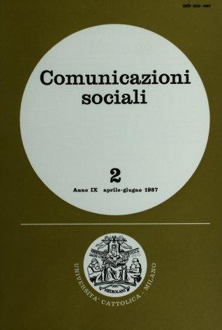 COMUNICAZIONI SOCIALI - 1987 - 2