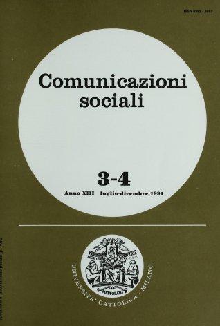 COMUNICAZIONI SOCIALI - 1991 - 3-4. FANTASMI DEL PACOSCENICO