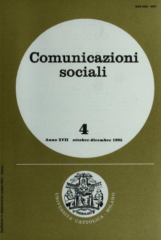 COMUNICAZIONI SOCIALI - 1995 - 4