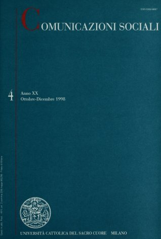 COMUNICAZIONI SOCIALI - 1998 - 4. CINEPOPOLARE