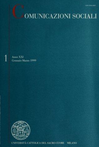 COMUNICAZIONI SOCIALI - 1999 - 1