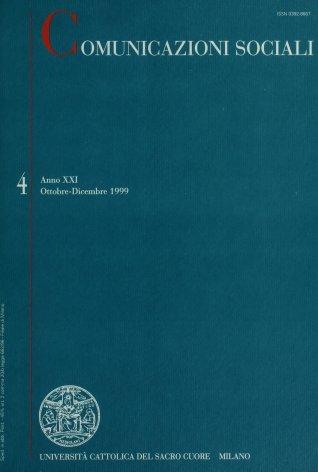 COMUNICAZIONI SOCIALI - 1999 - 4. AI CONFINI DELLA DANZA