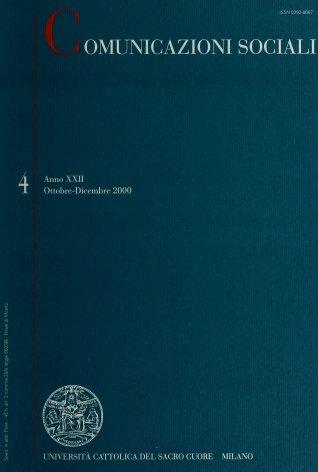 COMUNICAZIONI SOCIALI - 2000 - 4